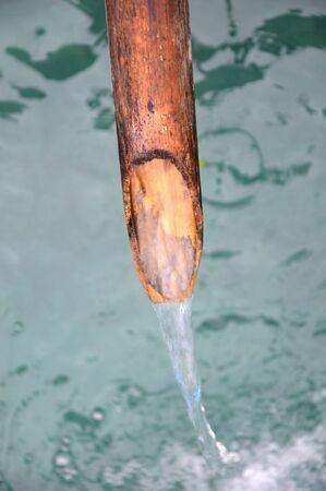orgasm: bamboo water fountain