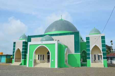 Malinau印度尼西亚的清真寺