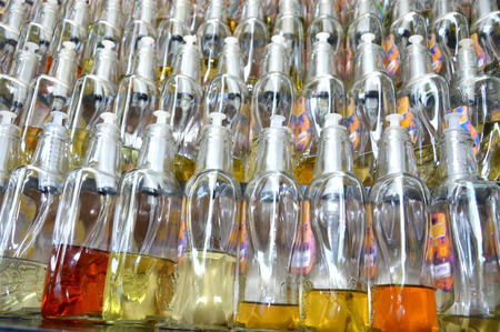 varying: perfume bottles with varying scents retail sale