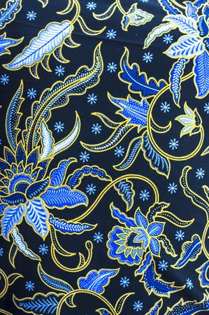 Detailmuster Indonesien Batiktuch Standard-Bild - 40041137