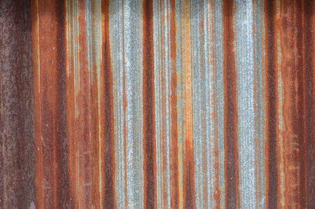 zinc: old zinc wall background Stock Photo