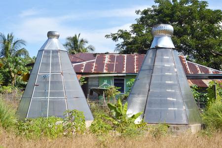 housing drier seaweed using solar light energy at Tarakan Indonesia