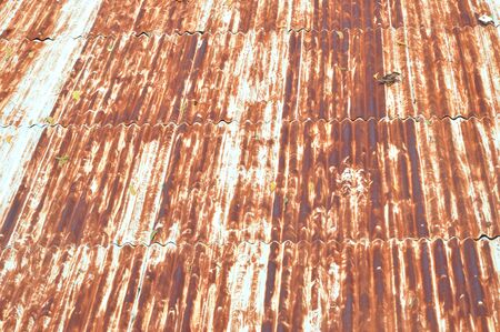 old zinc roofl background Stock Photo
