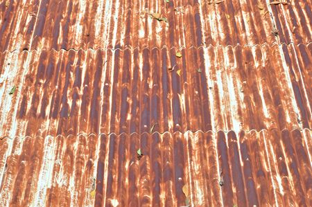 old zinc roofl background Stock Photo