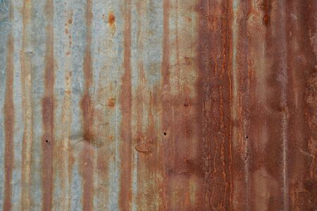 old zinc wall background Stock Photo