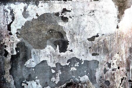 texture on the old cement wall