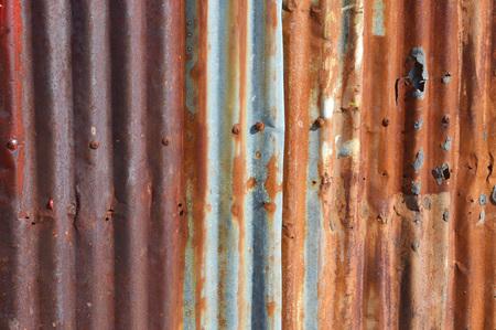 oude zink muur achtergrond