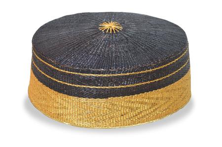 Songkok Tho Bone, traditional hats noble bugis Indonesia on white background
