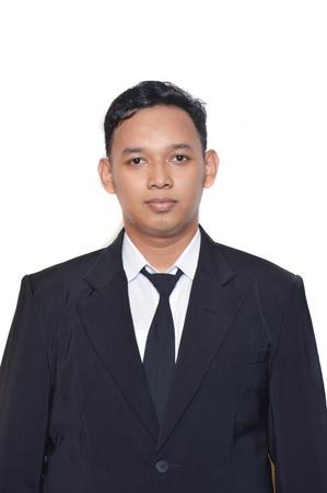 Asian male businessman portrait Stock Photo