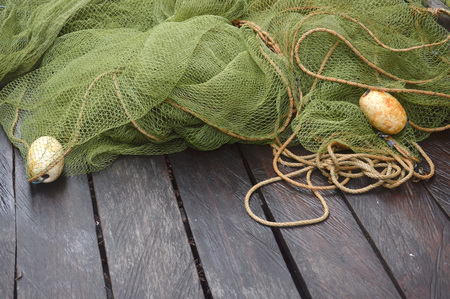 fishing trawlers on the wooden board