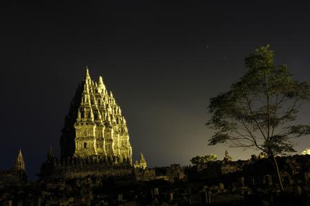 Prambanan Temple in Jogjakarta - Indonesia Editorial