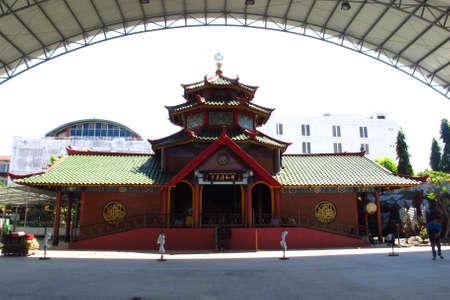 SURABAYA - INDONESIA ; 31th July 2013 : The Cheng Ho Mosque in Surabaya is a Chinese Muslim nuance, Surabaya, East Java Indonesia Editoriali