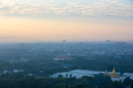When we traveling to Mandalay City, Myanmar.