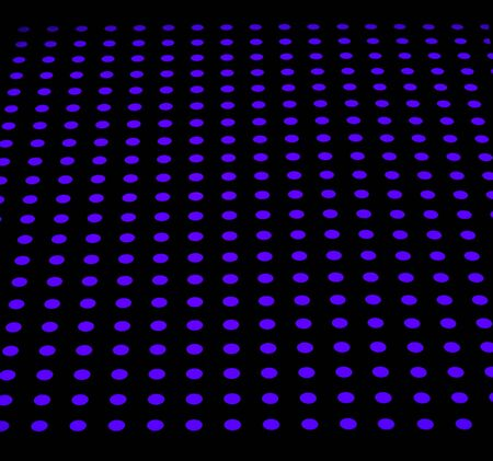 blue dotted background pattern Stock Photo