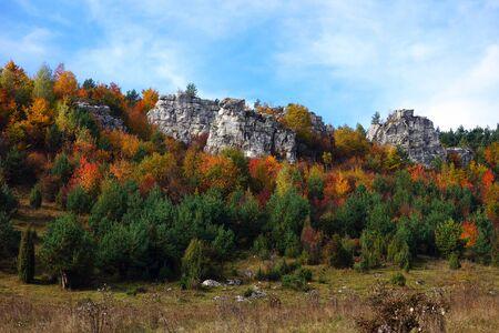 Travertine rocks, Spišské Podhradie, Slovakia