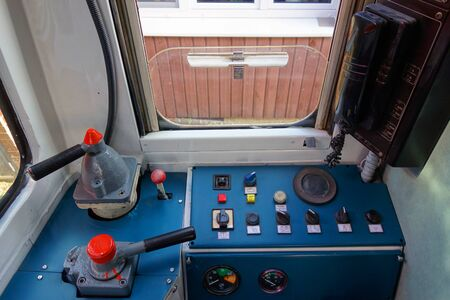 Locomotiva interior 스톡 콘텐츠