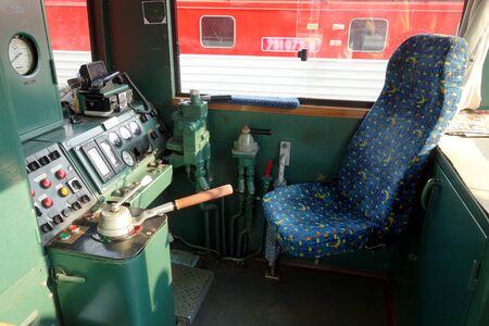 Interior cockpit locomotive