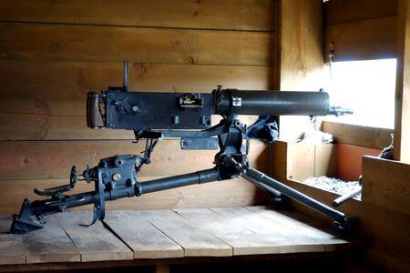 Machine gun Maxim, Russia