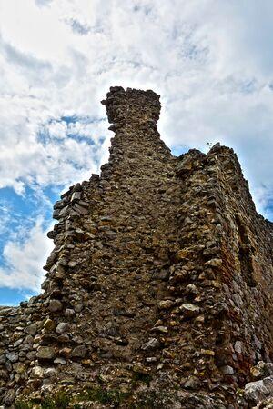 Ruins Brekov Castle, Slovakia
