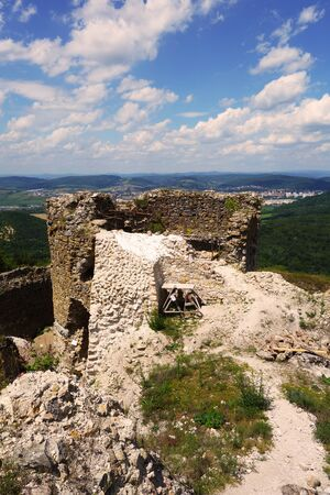 Reconstruction of Jasenov Castle, Slovakia