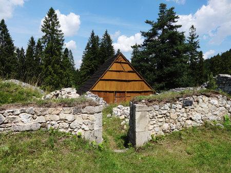 Kláštorisko-Slovak Paradise Stockfoto - 133112895