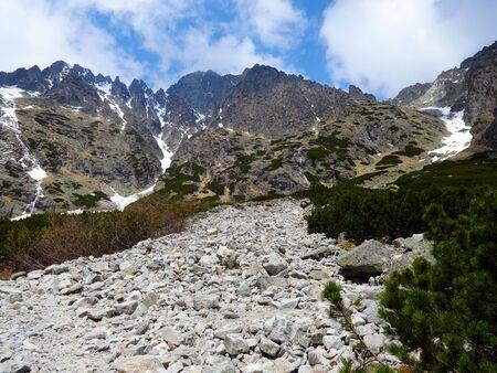 The Small Cold Valley High Tatras Zdjęcie Seryjne