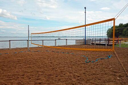 Beach volleyball Archivio Fotografico - 134682514