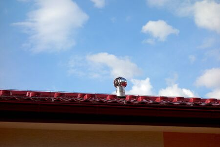 Air turbine, air conditioning on the roof