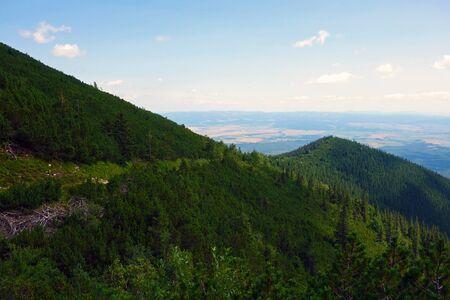 High Tatras above Tatranska Lomnica 写真素材