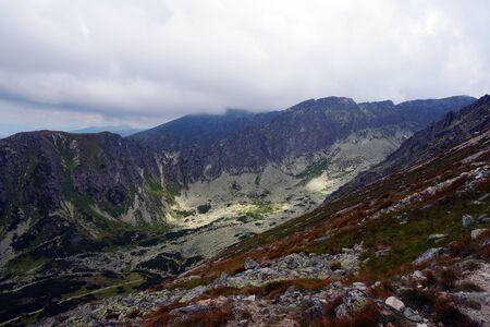 High Tatras, mountains, scenery from Solisko 写真素材