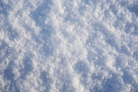 Accumulated nice and Crystalline snow