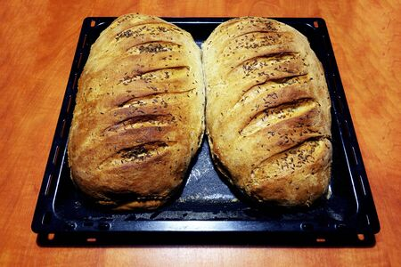 Genuine home baked and crisp bread