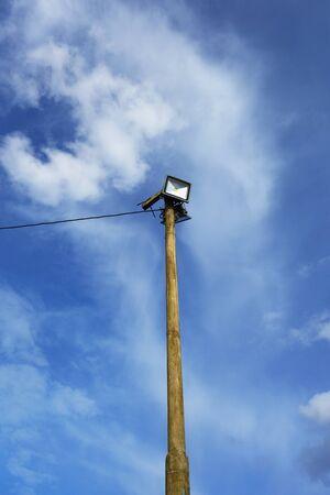 Saving LED lighting on old column