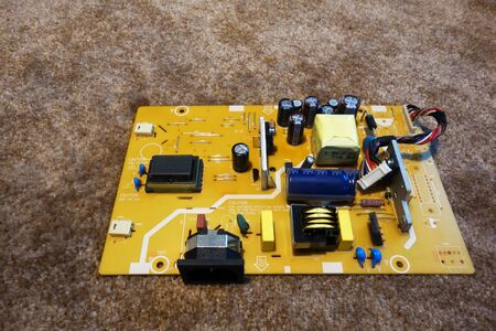 Electronic board, printed circuit boards