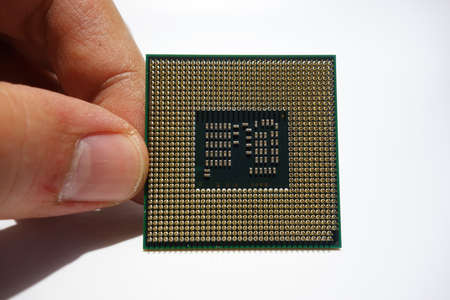 Computer processor for PC or laptop 写真素材