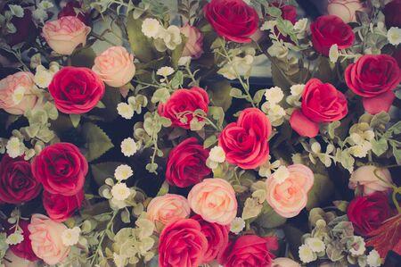 material flower: Vintage Flowers