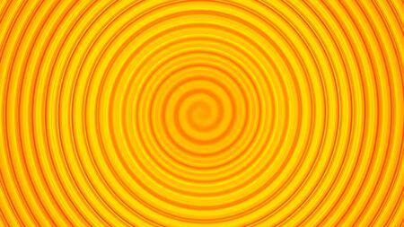 circular wave: Yellow twirl circular wave Background.