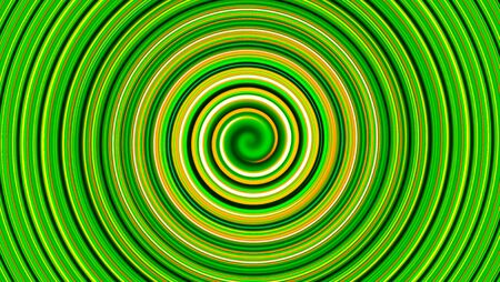 circular wave: Green twirl circular wave Background. Stock Photo