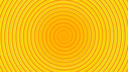 liquid summer: Yellow twirl circular wave Background.