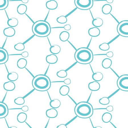 Abstract blur background.Hub network connection. Tech or technology logo. Server or central database button. System links symbol. Molecule shape.