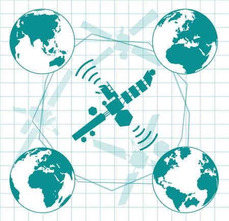 wireless communication: communication and wireless satellite technology