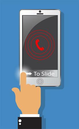 Calling illustration