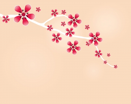 taffy: Japanese cherry twig