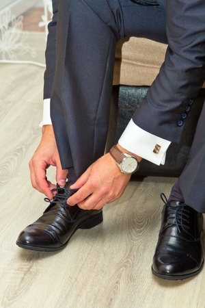 man and shoes Stock Photo - 18141576