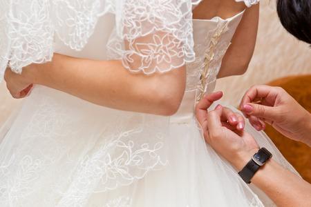 corset: Bride corset tie