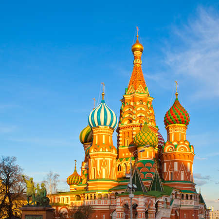 basils: St. Basils Cathedral, Moscow Stock Photo