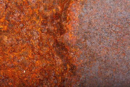 metal sheet: rusty sheet metal. macro background Stock Photo