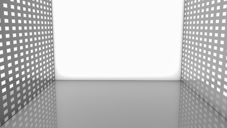light gray background. illustration. 3d render
