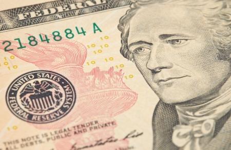 Moeda norte-americano, D Banco de Imagens