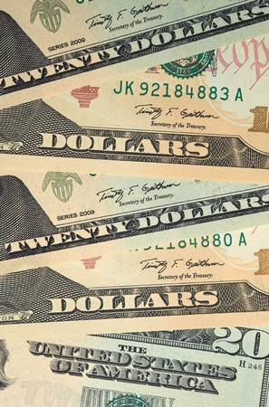 American Currency, American Dollars Stock Photo - 21645195